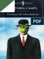 Victoria Camps - Paradojas del individualismo