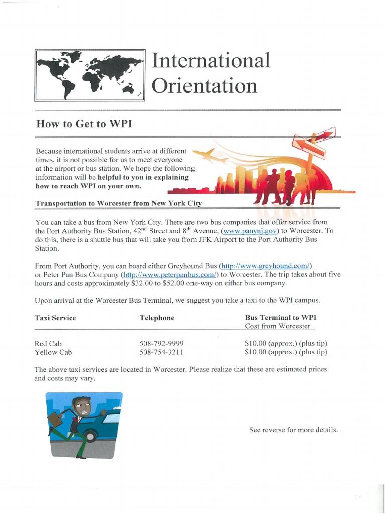 How to get to WPI