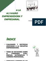 Iniciación a La Actividad Emprendedora y Empresarial