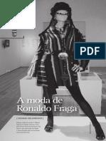 A moda de Ronaldo fraga