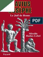 FLAVIUS JOSEPHE - Mireille Hadas-Lebel