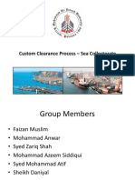 Custom Clearance Process