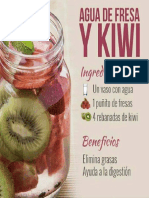 Agua Fresa Kiwi