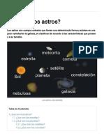 ¿Qué Son Los Astros_ » Respuestas.tips