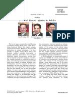 Brachial Plexus Injuries in Adults ; Preface