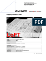 FOCA GM INFO - Logging of Flight Time