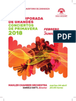 Mahler Chamber Orchestra 17-4-2018