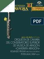 """""""CAMERATA ARAGÓN"""" 1-4-2008"""