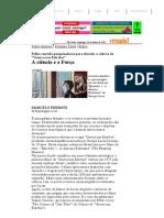 Folha de Sao Paulo (Guerra Nas Estrelas)