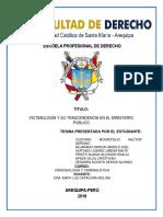 VICTIMIMOLOGIA Y SU TRASCENDENCIA EN EL MINISTERIO PUBLICO.docx