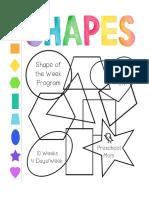 Shape of the Week Program c