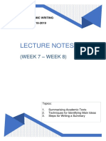 Bbi2424 Lecture Notes 1