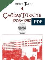 Türkiye Tarihi IV (1908-1980)