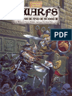 WFRP 1ed - Dwarfs - Stone and Steel