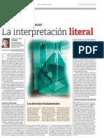 La+Interpretación+literal