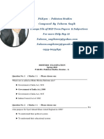 PAK301AmegaFileofMiDTermPapersSubjectives