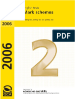 2007 Ks2 English Mark Schemes