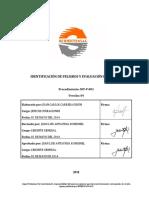 SST-P-001 Procedimiento e Identificación de Peligros y Riesgos
