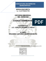 Historia Universal Del Derecho - Codigo Hammurabi