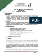Normas Diplomado Cohorte XIV Octubre 2016- Abril 2017