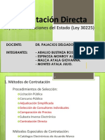 Grupo 8 - Contracion Directa