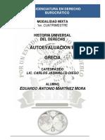 Historia Universal Del Derecho - Autoevaluación III