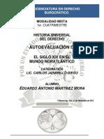 Historia Universal Del Derecho - Autoevaluación IX