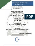 Historia Universal Del Derecho - Autoevaluación XII