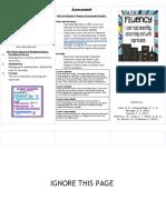 edu 611 brochure