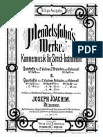 IMSLP299919-PMLP27014-FMendelssohn String Quartet, Op.13 JJoachimEd Parts
