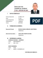 Curriculum Vitae (Dicxon Alexander Gil Acarigua)