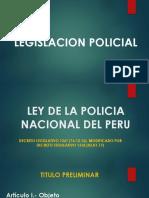 Legislación Policial Semana 1