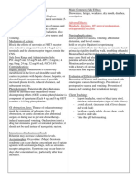 23 CLINICAL SITE - Facility Environment Assessment & Disaster Preparedness Plan