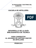 3. Desarrollo de La Guía Bibliográfica Cap a My