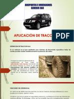 Uso de Camionetas Con Tracciòn 4x4