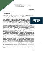 ALBÓ Xavier (1993) - Lo Andino en Bolivia. Balance y Prioridades