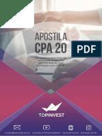 Apostila CPA 20 TopInvest