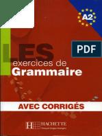 Les 500 exercices de grammaire A2