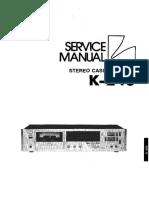 Luxman K-240 Service