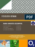 Fisiologi Hewan Kelompok 3 (Pertukaran Gas o2 Dan Co2 Pada Ikan, Katak Dan Burung)