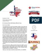 Coalition Letter Abbott SoS 12-18-18