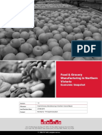 Food and Grocery Manufacturing Report North Victoria 2018 Final Public Report