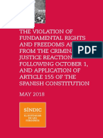 Report on Violation of Fundamental Rights and Freedoms Arising From October 1 Eng