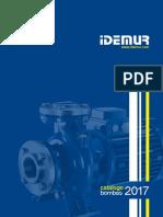 Catalogo Idemur Bombas 2017