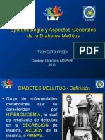 Epidemiología y Aspectos Generales de DM