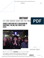 Chinese Christians Defy Crackdown on Christmas_ 'We Will Not Forfeit Our Faith' Brtbrt