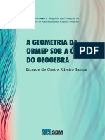 Simposio Nordeste a Geometria Da Obmep Sob a Otica Do Geogebra