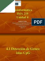 Unidad4 deteccion de genes islas CpG