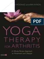 Dr. Stefany Moonaz, Erick Byron - Yoga Therapy for Arthritis a Whole-Person Approach to Movement and Lifestyle (2018, Singing Dragon)