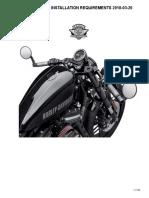 Harley-Davidson Handlebar Installation Requirements